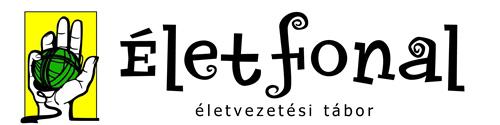Életfonal életvezetési tábor logó