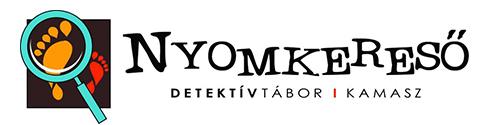 Nyomkereső detektívtábor - Kamasz turnus logó