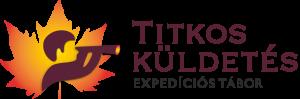 Titkos küldetés expedíciós tábor logó