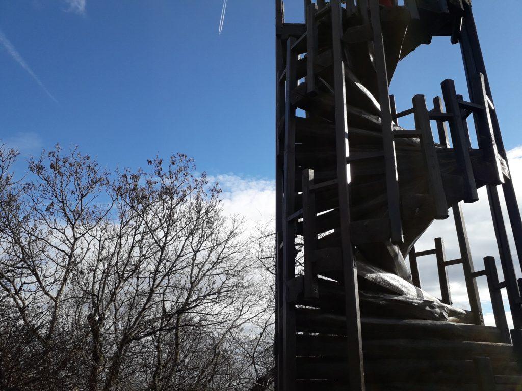 Kösszenet - Téli túra - Makovecz kilátó
