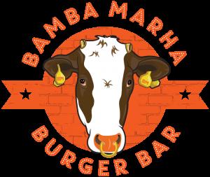 Szponzorunk: Bamba Marha Burger Bár logó